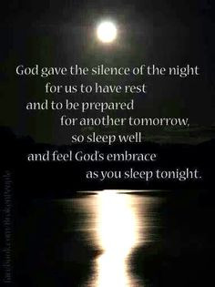 Sleep well More