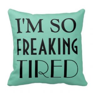 Funny Sayings Throw Pillows Photo