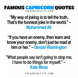 zodiaccity:Famous Capricorn Quotes: Muhammad Ali, Denzel Washington ...