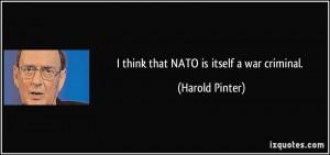 More Harold Pinter Quotes
