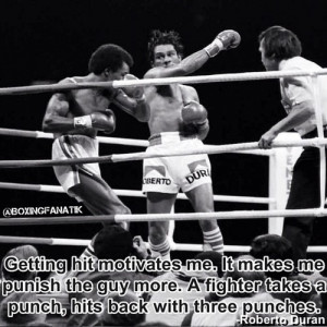 boxing #motivational quote of the day: Robert Duran. Follow us ...