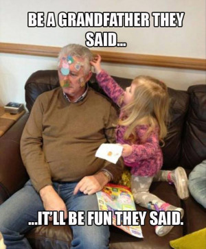 ... Funny fails , Funny Pictures // Tags: Be a grandfather they said