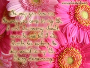 annipicquote2 Happy Anniversary quotes for wife, anniversary quotes ...