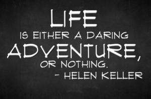 Inspiring Quote by Helen Keller