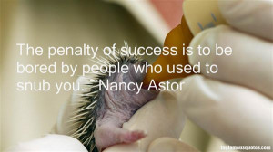 Favorite Nancy Astor Quotes