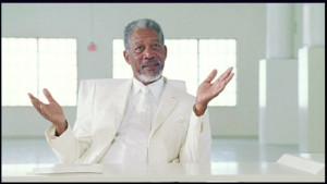 Morgan Freeman Bruce Almighty Quotes Morgan freeman ad controversy