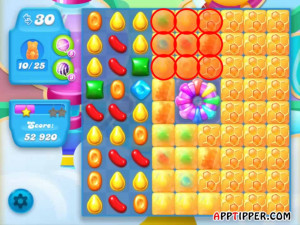Candy Crush Soda Saga Level 295 Tips