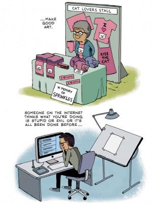 art quotes inspirational Neil Gaiman comics ZEN PENCILS