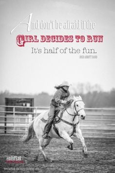and don't be afraid if the girl decides to run. It's half of the fun ...