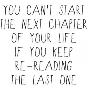 Forget the past!