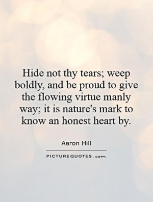 Tear Quotes Aaron Hill Quotes