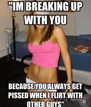 How not to break up