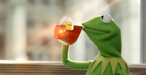Kermit The Frog Memes That's None Of My Business Tho What The Vogue