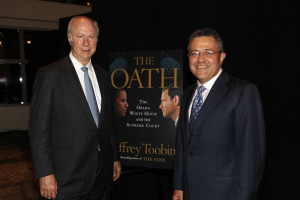 and writer Jeffrey Toobin attend Book Launch For Jeffrey Toobin