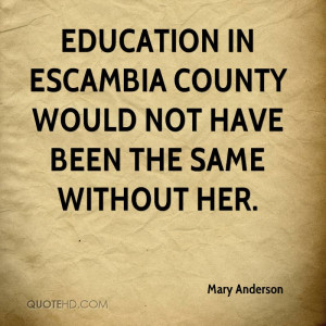 Mary Anderson Quotes