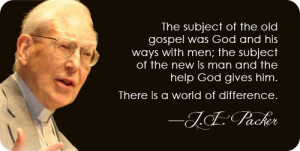 love this passage from j i packer one of my favorite writers about ...