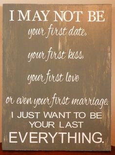 Anniversary - Wedding - Birthday Gift for Him or Her - I may not be ...