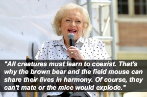 All creatures must learn to coexist. That's why the brown bear and ...