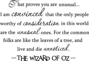 ... The Wonderful Wizard of Oz quote wall decor arts sayings vinyl decals