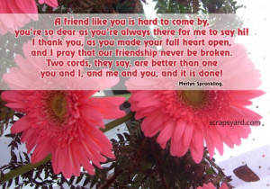 Friendship Images, Pictures, Graphics, Comments - Page 4