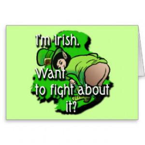 Funny Leprechaun Sayings Cards & More