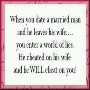 Homewrecker Quotes and Sayings | world of lies.... good luck with that ...