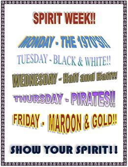 spirit week ideas high school