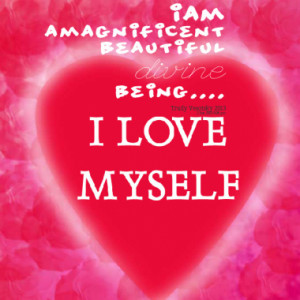 AM a magnificent beautiful divine being....
