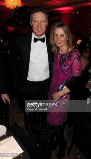 News Photo Rory Bremner and his wife Tessa Campbell Fraser