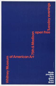 Ivan Chermayeff and Thomas Geismar. Whitney Museum of American Art ...