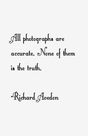 Richard Avedon Quotes