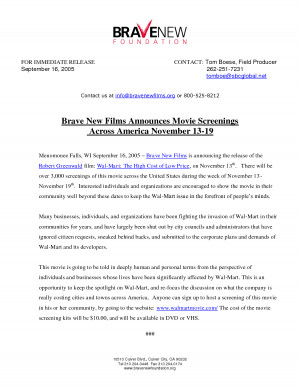Search Results for: Movie Press Release Template