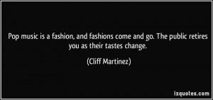 More Cliff Martinez Quotes