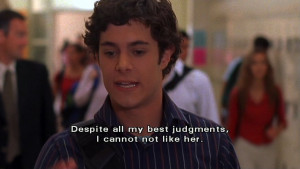 funny seth cohen quotes