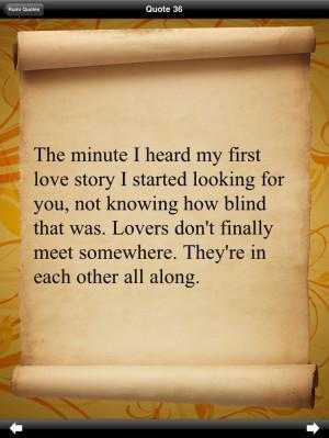 rumi quotes -