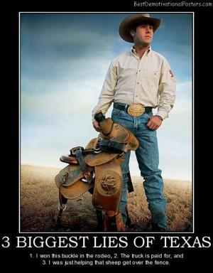 biggest lies of texas
