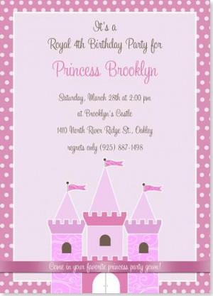Home / Birthday Party Invitations / Royal Princess Birthday Invitation