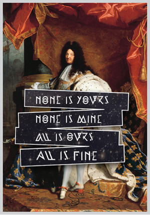Portrait of King Louis XIV