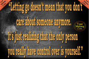 Let Him Go Quote | Let Go Quotes | Life Change Quote