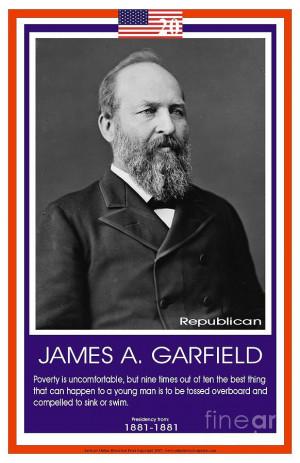 President James A. Garfield Photograph
