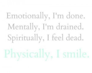 Emotionally Exhausted Quotes Emotionally drained drama
