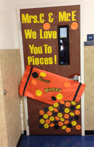 25 Teacher Appreciation Door Ideas from OneCreativeMommy.com {We Love ...
