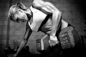 International top fitness model and television personality Pauline ...