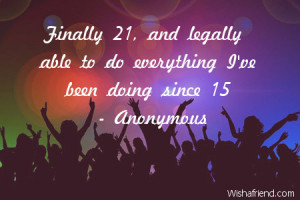21st birthday quotes for daughter