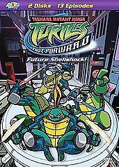... ninja turtles fast forward vol 1 future shellshock dvd 2 ninja