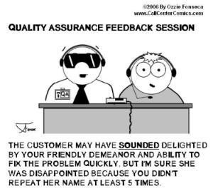 Call Centre Humour • 4 Comments