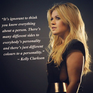 Kelly Clarkson #quotes