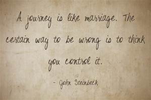 Journey Like Marriage The...