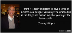 More Tommy Hilfiger Quotes