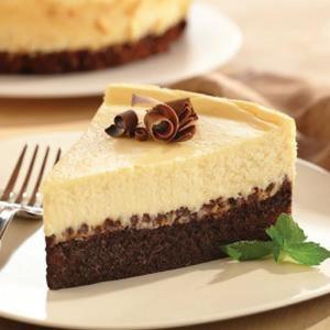 Brownie Chocolate Chip Cheesecake…